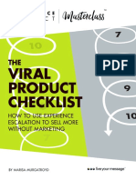 Viral Product Checklist