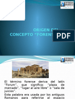 17 Origen Deltermino Forense