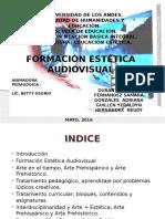 Diapositivas de Estetica EXPOSICION PRIMERA