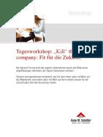 Workshop Kill the Company