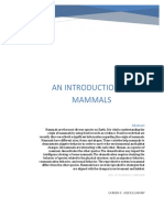 An Introduction to Mammals
