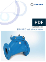 DS ERHARD Ball Check Valve En