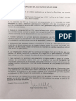 Comunicado Juan Carlos Velez