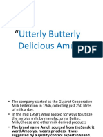 Advertising and Branding Strategy of Amul Butter