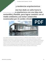 Casas Anfibias y Tendencias Arquitectonicas - Centro ADM