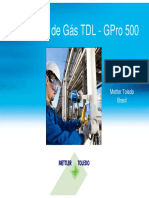 Mettler Toledo - Analisador GPro 500 TDL