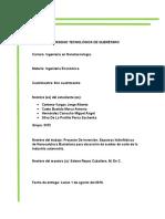 PROYECTO de INVERSION Espumas Nanocelulosa Estudio de Mercado