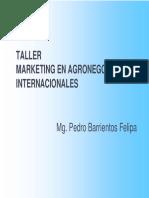 Taller Mercados Internacionales
