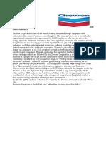 Final Report,,,Chevron
