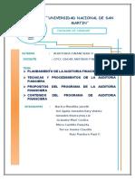 Planeamiento de La Auditoria Financiera 2