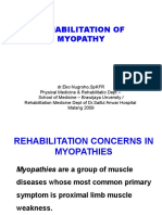 2009 Myopathy Rehab