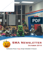 Oct '16 Newsletter