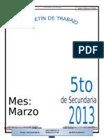 Boletin 5º  MARZO