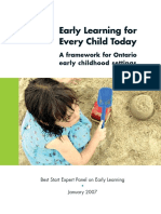 Early Learning for Every Child