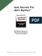 Ancient Secrets for Modern Mystics