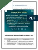 SME Notes