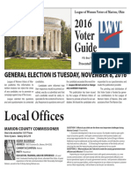 2016 League of Women Voters Voter Guide