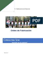 Orden de Fabricacion