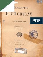 Monografias Historicas - Juan Silvano Godoi - 1893 - PortalGuarani