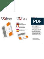 DGT 960 Manual