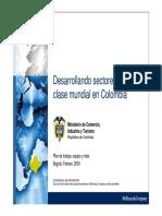 2009-DesarrollandoSectoresEquipo