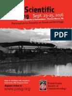 PSG's Annual Scientific Meeting