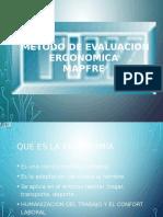 Metodo de Evaluacion Ergonomica Mapfre