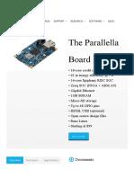 The BOARD _ Parallella
