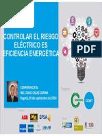 Controlar El Riesgo Electrico Es Eficiencia Energetica