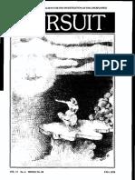 PURSUIT Newsletter No. 44, Fall 1978 - Ivan T. Sanderson