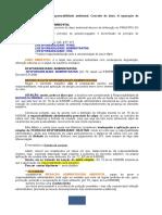 DIREITO AMBIENTAL  -