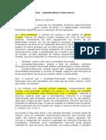 Direito Empresarial - Arrendamento Mercantil