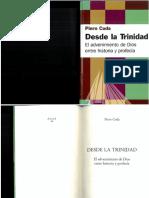 Piero Coda Desde La Trinidad