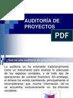 Auditoría y Gestión Estratégica de Proyectos