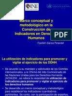 Marco Conceptual y Metodológico indicadores derechos humanos