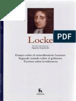 Estudio Introductorio Locke