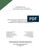 Manual de Guías de Trabajo Para La Elaboración de Preparados Magistrales y Oficinales. Elaboració (1)