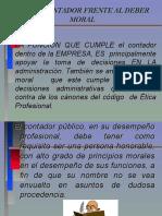 El Contador Frente Al Deber Moral (1)