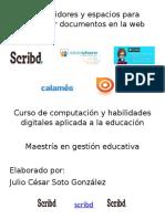 Convertidores y espacios para compartir documentos en la web