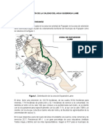 Informe de Proyección Calidad de Agua Q. Lame
