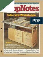ShopNotes #50 (Vol. 09) - Table Saw Workstation.pdf