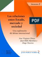 Las Relaciones Entre Estado y Mercado y Sociedad