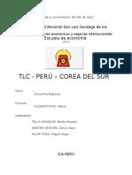 Tlc Peru y Corea Del Sur