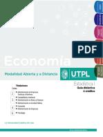 Guía Didáctica - Estadística 1