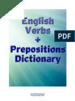 English Verbs Prepositions Dictionary