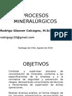 procesos mineralurgicos