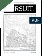 PURSUIT Newsletter No. 49, Winter 1980 - Ivan T. Sanderson