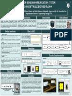 QU CubeSat - SDP II Poster