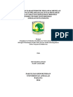 Hubungan Karakteristik PMO Dengan Pelaksanaan Tugas PMO Dan Kepatuhan Berobat Pasien TB