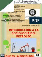 Introduccion a La Sociologia Del Petroleo